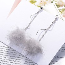 Plush earrings XZE009c