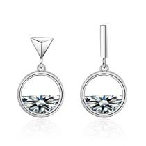 Hollow earrings 526
