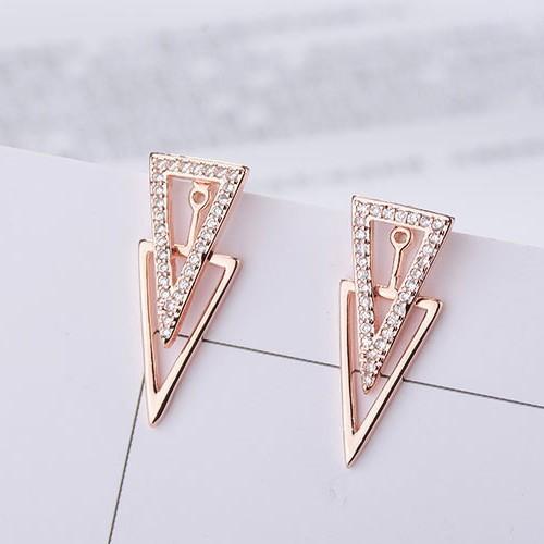 Triangle earrings XZE431a