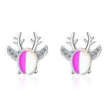 Antler Moonstone Stud Earrings 780