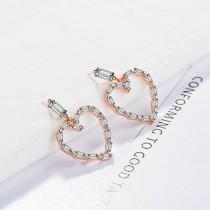 heart earrings XZE585a