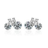 Bicycle earrings xze531