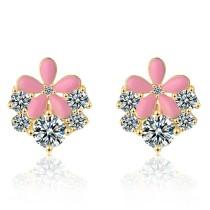 flower earring 745