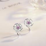 Cherry blossom earrings XZE288b