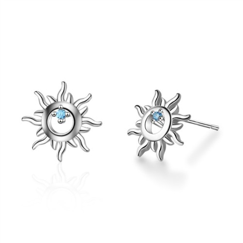 Sun flower earrings XZE665
