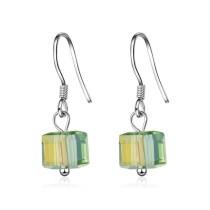 Square earrings XZE363d