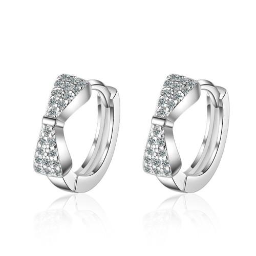 Bow earrings XZE402b