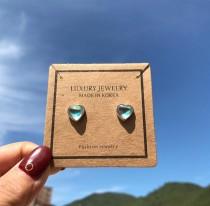 Heart earring 560