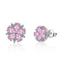 flower earring 517