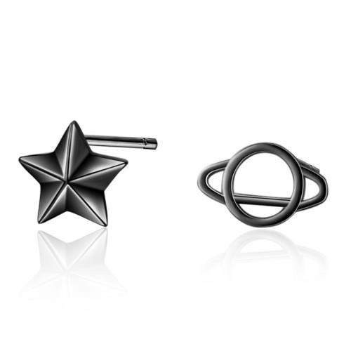 Cosmic star stud earrings 783