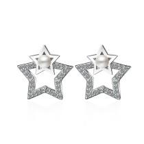 star pearl earring 425