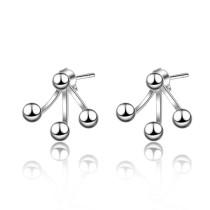 Asymmetric bead earrings XZE732