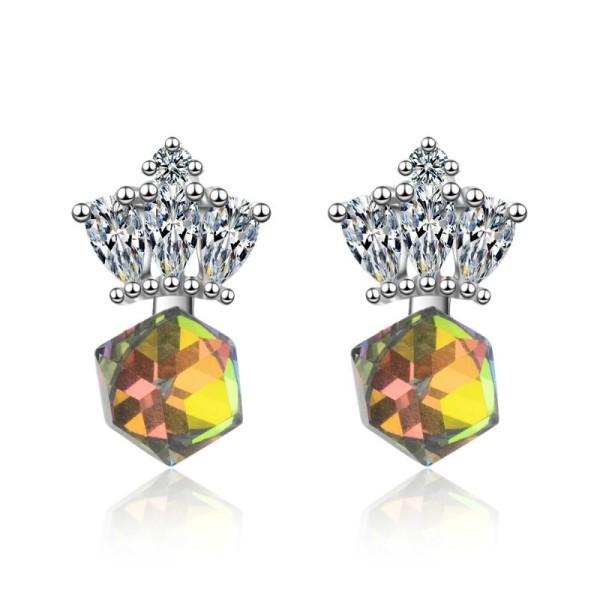 Crown earrings XZE764