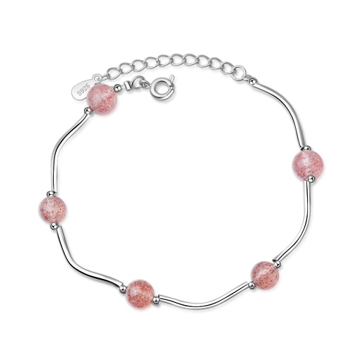 Strawberry Crystal Bracelet xzb076