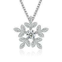 snowflake necklace 76