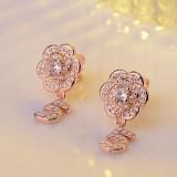 flower earring XZEa386a