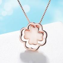 Four Leaf Clover necklace XZA212a