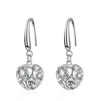 Heart hollow earrings 277