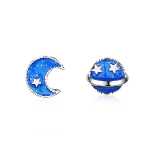 star moon earring 581