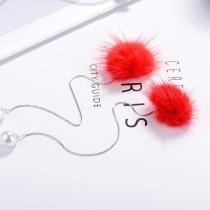 Plush Pearl Earrings XZE006w
