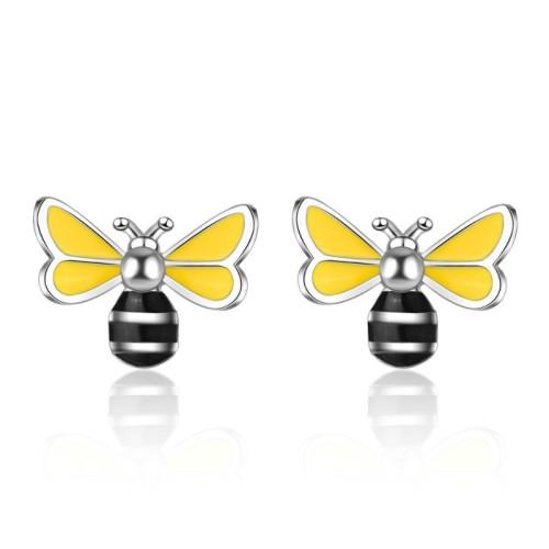 Bee earrings 688