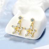 star earring XZE763a