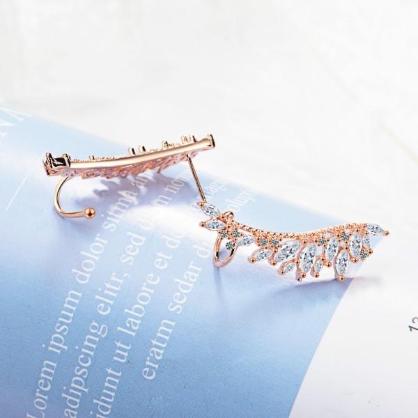 Wing earring XZE785-1