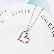 heart necklace XZA351a