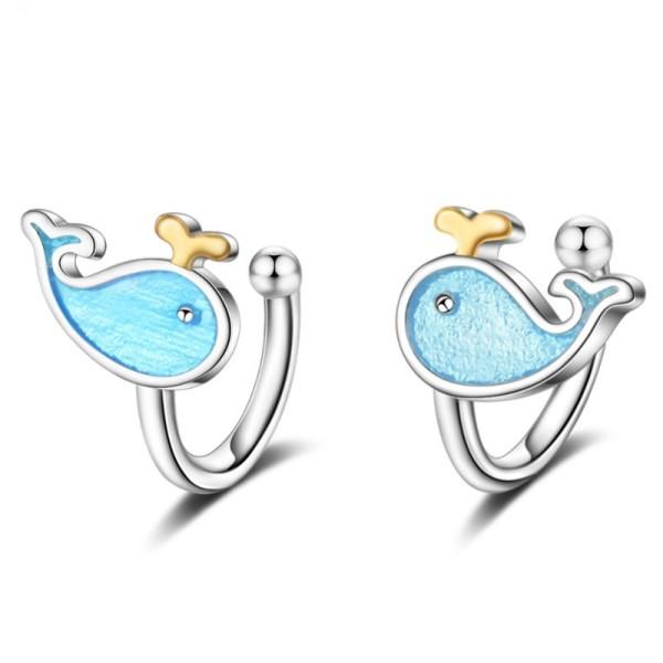 Whale ear clip