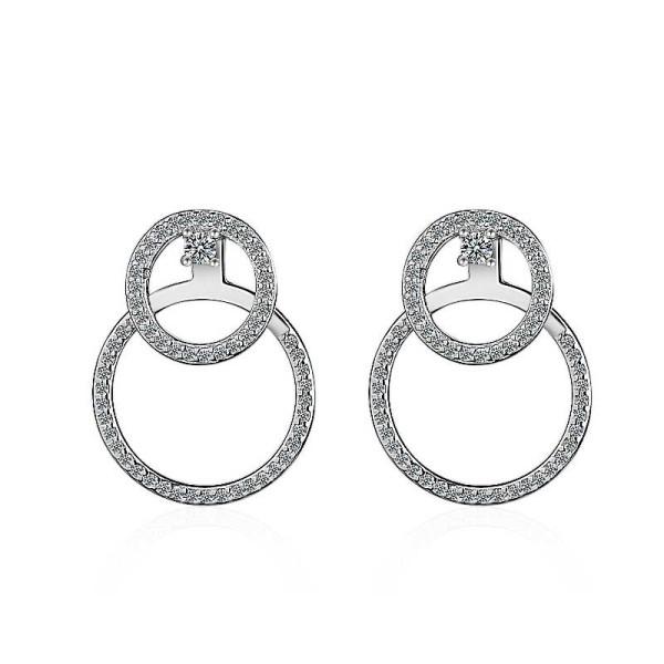 Round back earrings XZE419