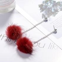 Plush earrings XZEq007l