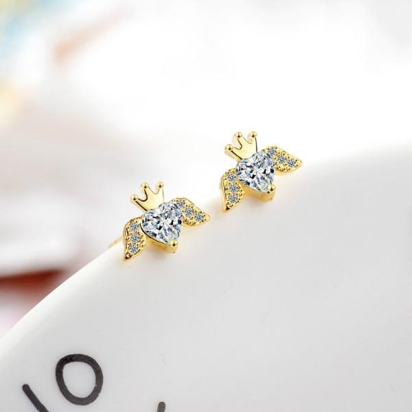 Wing angel earrings XZE769a