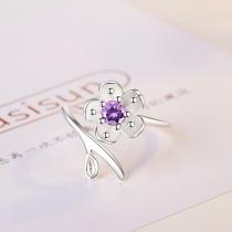 Flower ring XZR167c