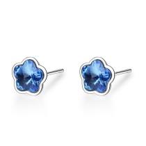 Five-petal flower earrings XZE603