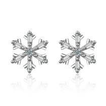 Snowflake earrings XZE727