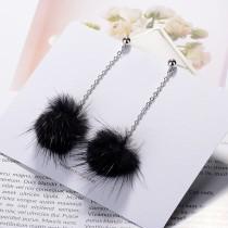 Plush earrings XZEq007d