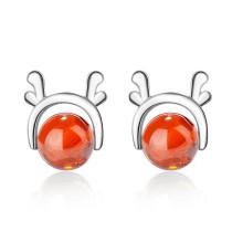Christmas elk earrings 784