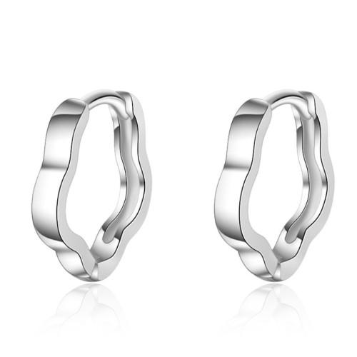 Plum earrings XZE417a