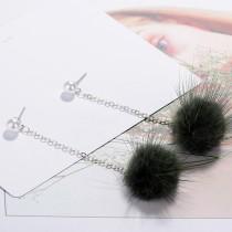 Plush Pearl Earrings XZE008o