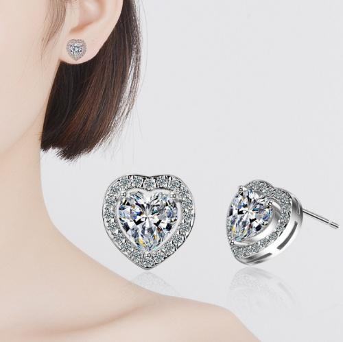 heart earring XZE543a