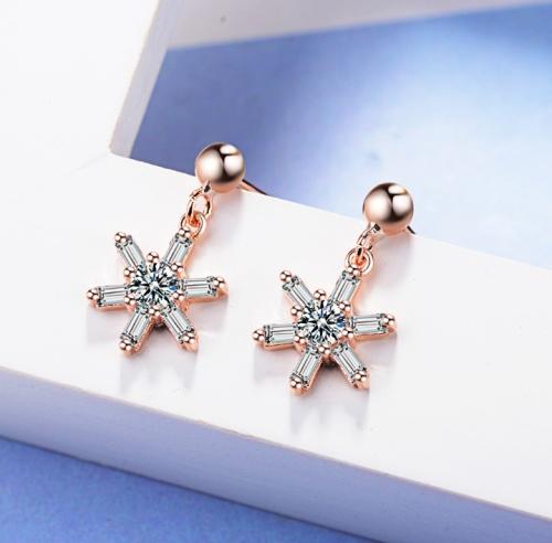 Flower earring XZE544a