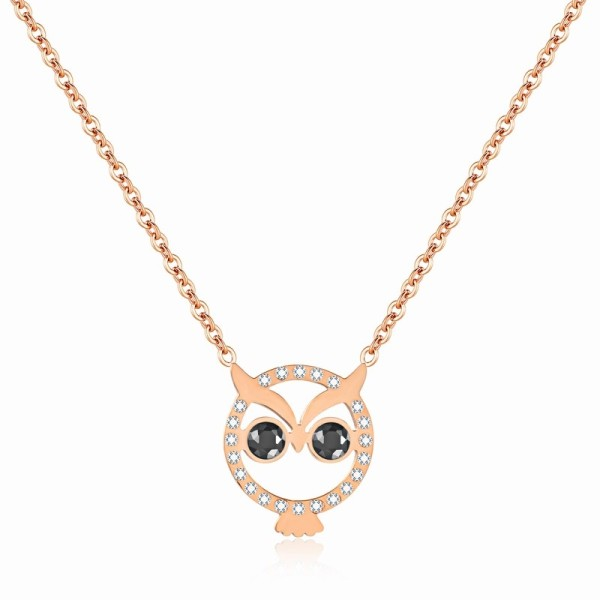Owl necklace gb06171323a