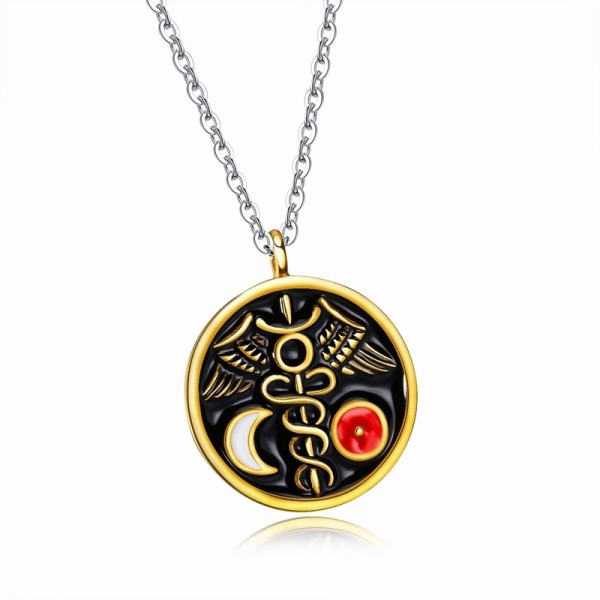 round necklace (white and red) gb06181365c