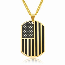 Flag trophy necklace gb06171236a