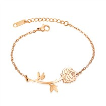 rose flower bracelet gb0619995a