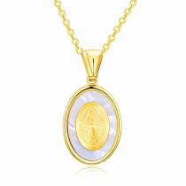 Religious oval necklace gb06181359a
