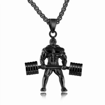 weightlifting necklace gb06171218a