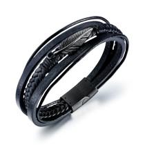 Multi-ring bracelet gb06191333a