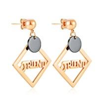 Geometric square earrings gb0619515