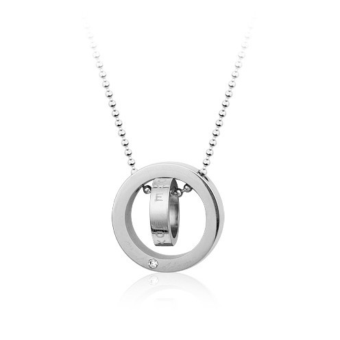 steel  necklace 1120513